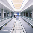 Escalator in airport — Stock Photo #29880883