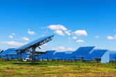 Solar energy in china — Stock Photo