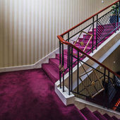 Stair in hotel — Stock Photo