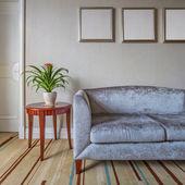 Living room interior — Stockfoto