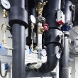 Stock Photo: Piping system