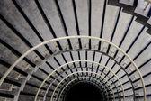 Escalera de caracol — Foto de Stock