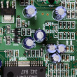 closeup of electronic circuit board — Stock Photo #30339273