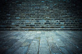 Brickwall as background — Stock Photo