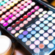 Stock Photo: Colorful eye shadow