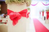 Wedding scene — Stock Photo