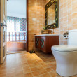 Bathroom in the hotel — 图库照片