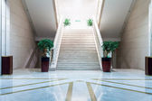 Stairs in moden buildings — Stock Photo