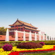 Gate tower of Tiananmen in Beijing — Stock Photo #31109141