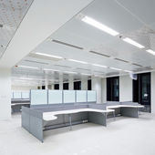 Wnętrze budynku biurowego — Zdjęcie stockowe