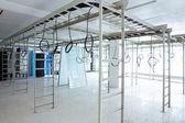 Interior of machine room — Stock Photo
