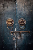 Chinese Old Door — Stock Photo