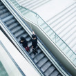 Escalator in shopping mall — Stock Photo #33228729