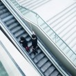 Stock Photo: Escalator in shopping mall
