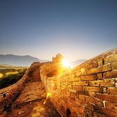 La gran muralla — Foto de Stock