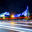 Traffic in city at night — Stock Photo #33390995