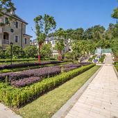 Garden in residence — Foto Stock