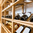 Stock Photo: Wine cabinet