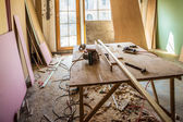 Scene of renovation — Foto Stock