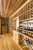 Wine cabinet — Stock Photo