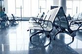 čekárna na letišti — Stock fotografie