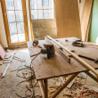Stock Photo: Scene of renovation