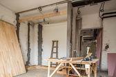 Scene of renovation — Stockfoto