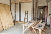Scene of renovation — Stockfoto