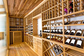 Wine cabinet — Stock Photo