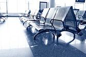 在机场的等候室 — 图库照片