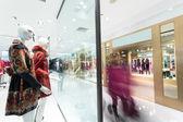 洋服店のマネキン — ストック写真