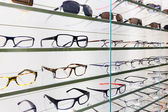 Glasses displayed — Stock Photo