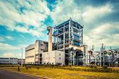 Fábrica de aço — Foto Stock