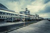 Steelmaking factory — Stock Photo