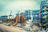 Fábrica de produção de aço — Foto Stock