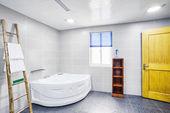 Interior of modern bathroom — Stock Photo