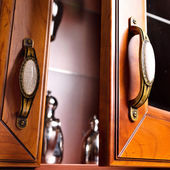 Cupboard details — Stock Photo