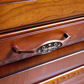 Antique drawer — Stock Photo