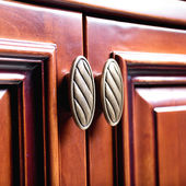 Decorated furniture drawers — Stock Photo