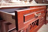 Wooden cupboard — Stock Photo
