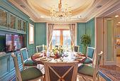 Luxuriösen speisesaal — Stockfoto