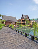 Resort building — Stock Photo