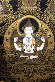Bodhisattva picture — Stock Photo