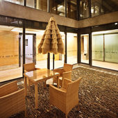 Interno di un edificio moderno — Foto Stock