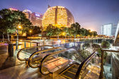 Night scenery of the city — Stock Photo
