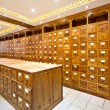 Chinese herbs store — Stock Photo #39542573