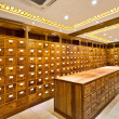 Old chinese medicine shop — Stock Photo