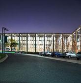 The night scene of modern office building — Stock Photo