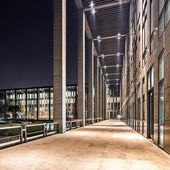 Corridor of modern office building — Stock Photo