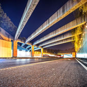 Nterior of an urban tunnel without traffic — Stock Photo